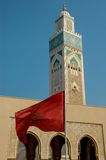 Moschee Hassan II in Casablanca Lizenzfreie Stockbilder