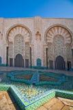 Moschee Hassan II, Casablanca Stockfoto