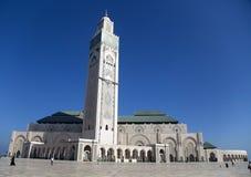 Moschee Hassan II in Casablanca, Marokko Stockbild