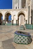 Moschee Hassan II in Casablanca, Marokko Stockbilder