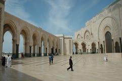 Moschee Hassan II, Casablanca, Marokko Stockbilder