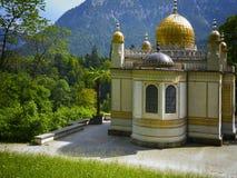 Moschee im Bayern lizenzfreies stockbild