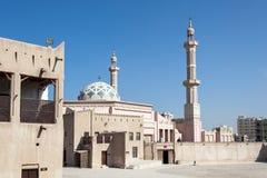 Moschee im Emirat von Adschman Lizenzfreie Stockfotografie