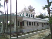 Moschee im Fluss stockfotos