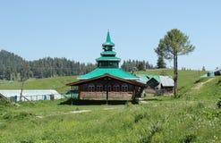 Moschee im kasmir stockfotos