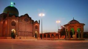 Moschee - Imamzadeye Husayn - Gazvin Stadt Stockbild