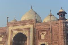 Moschee in Indien Stockfotografie