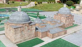 Moschee in Istanbul Stockbild