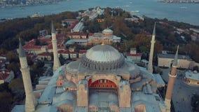 Moschee in Istanbul die Türkei stock video