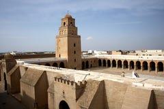 Moschee in Kairouan Stockfotografie