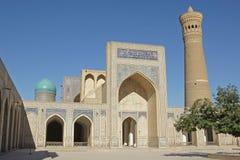 Moschee Kalon, Bukhara, Uzbekistan Lizenzfreie Stockfotos