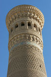 Moschee Kalon, Bukhara, Uzbekistan stockfotos