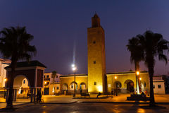 Moschee in Martil Lizenzfreies Stockfoto