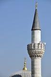 Moschee, Minarett lizenzfreies stockbild