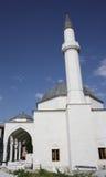 Moschee mit zwei Minaretts Lizenzfreie Stockfotografie