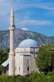 Moschee in Mostar in Bosnien u. in Herzegowina Stockfotografie