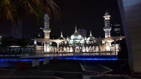 Moschee, Nacht, Licht, Islam, aladin stockbilder