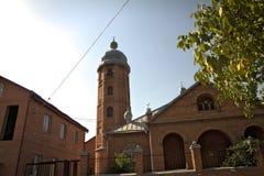 Moschee in Pankisi Stockfoto