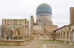 Moschee in Samarkand Lizenzfreie Stockbilder