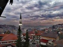 Moschee in Sarajevo stockfotos