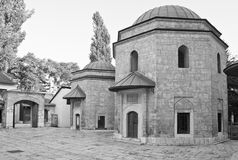 Moschee in Sarajevo Stockbilder