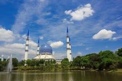 Moschee in Shah Alam Lizenzfreies Stockbild