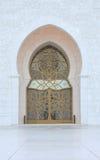 Moschee-Tür lizenzfreie stockbilder