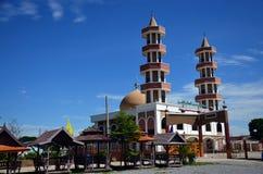 Moschee in Thailand stockbild