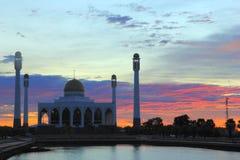 Moschee in Thailand Lizenzfreies Stockfoto