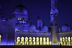 Moschee UAE dello sceicco Zayed Fotografia Stock