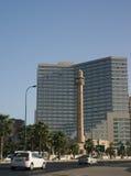 Moschee und Hotel Lizenzfreies Stockfoto