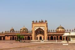 Moschee von Fatehpur Sikri India Lizenzfreies Stockbild
