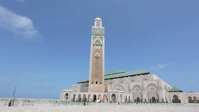 Moschee von Hassan II in Casablanca stock video footage