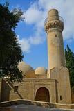 Moschee von Shirvan-Schah, Baku, Aserbaidschan Stockfotografie