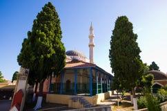 Moschee von Suleiman, Rhodos, Griechenland Lizenzfreie Stockbilder