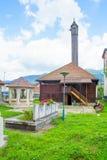 Moschee von Vezir, Gusinje Stockfotografie