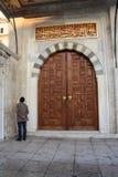 Moscheentür Stockfotografie