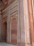 Moscheinnenraum mit schwierigen geometrischen Auslegungen lizenzfreies stockfoto