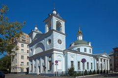 moscou Église du Dormition du Theotokos dans Mogiltsy Photo stock
