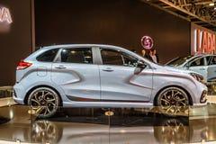 MOSCOU - AOÛT 2016 : Le concept de rayon X de VAZ LADA a présenté chez MIAS Moscow International Automobile Salon le 20 août 2016 Image libre de droits