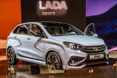 MOSCOU - AOÛT 2016 : Le concept de rayon X de VAZ LADA a présenté chez MIAS Moscow International Automobile Salon le 20 août 2016 Image stock