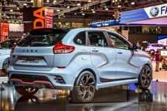 MOSCOU - AOÛT 2016 : Le concept de rayon X de VAZ LADA a présenté chez MIAS Moscow International Automobile Salon le 20 août 2016 Photos libres de droits