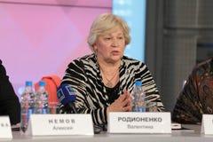 Valentina Rodionenko Image libre de droits