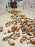 5a Moscou Bienal da arte contemporânea Foto de Stock Royalty Free