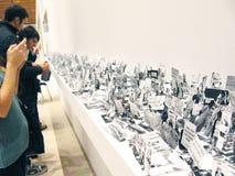 5a Moscou Bienal da arte contemporânea Foto de Stock