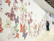 5a Moscou Bienal da arte contemporânea Imagem de Stock