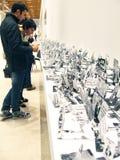 5a Moscou Bienal da arte contemporânea Fotografia de Stock