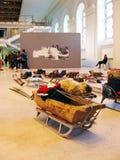 5a Moscou Bienal da arte contemporânea Fotografia de Stock Royalty Free
