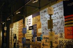 A 6a Moscou Bienal da arte contemporânea Foto de Stock