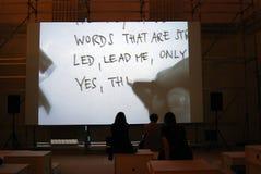 A 6a Moscou Bienal da arte contemporânea Imagem de Stock